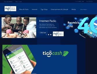 tigo.co.rw screenshot