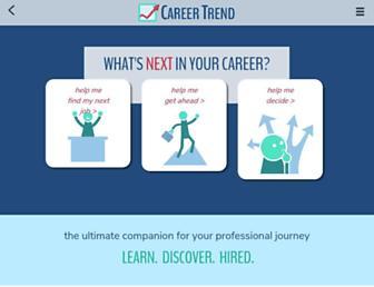 careertrend.com screenshot