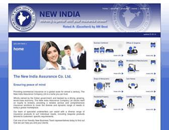 newindia.co.uk screenshot