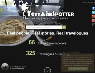 terrainspotter.com screenshot