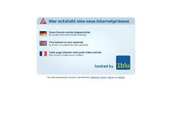 Main page screenshot of peterlebtvegan.de