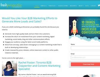 copywritertoronto.com screenshot