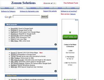 zonums.com screenshot