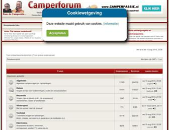 camperforum.nl screenshot