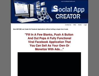 Thumbshot of Socialappcreator.com