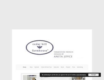 cedarhillfarmhouse.com screenshot