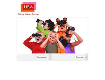 ubabelgium.be screenshot