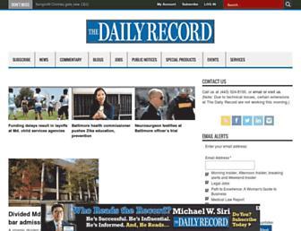 thedailyrecord.com screenshot