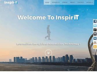 inspirit.net.in screenshot