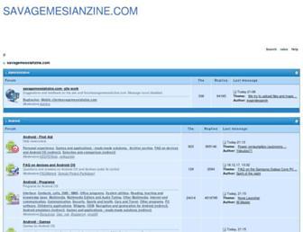 savagemessiahzine.com screenshot