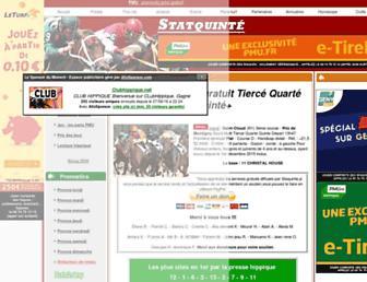 stats-quinte.com screenshot