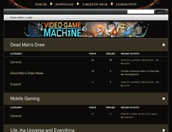 forums.deadmansdrawgame.com screenshot