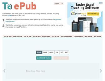 toepub.com screenshot