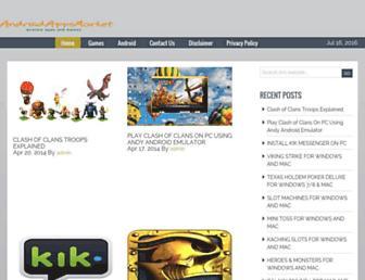 theandroidappsmarket.com screenshot