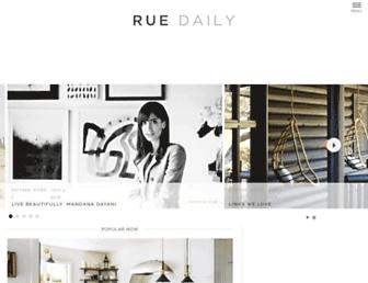 Thumbshot of Ruemag.com