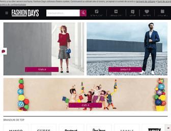 fashiondays.ro screenshot