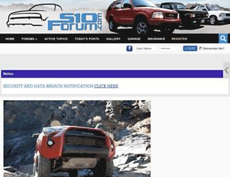 Thumbshot of S10forum.com