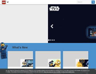 lego.com screenshot