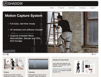 motionshadow.com screenshot