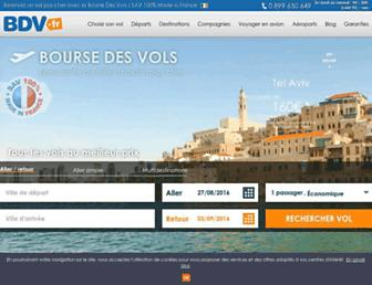 bourse-des-vols.com screenshot
