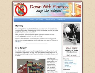 downwithpinatas.com screenshot