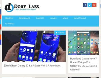 dorylabs.com screenshot