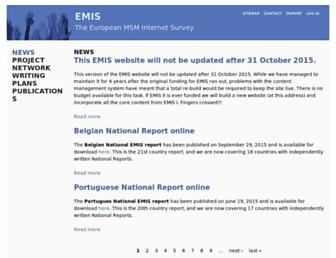 emis-project.eu screenshot
