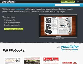 Thumbshot of Youblisher.com
