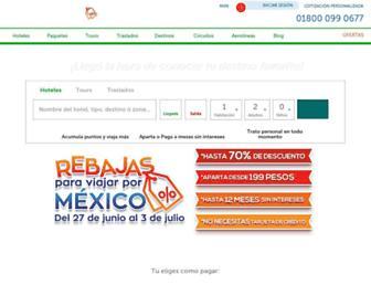 mexicodestinos.com screenshot
