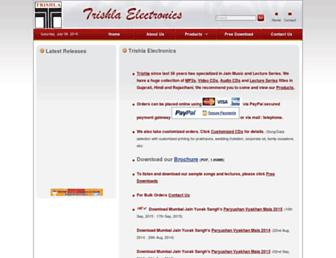 trishlajainstavan.com screenshot