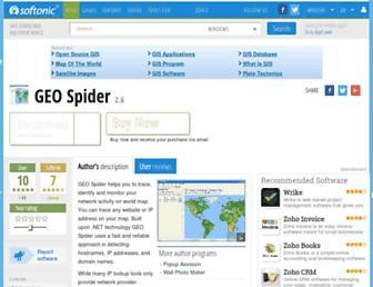 geo-spider.en.softonic.com screenshot
