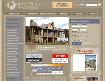 houseplans.designsdirect.com screenshot