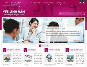 yeuanhvan.com screenshot