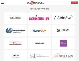 dealspluses.com screenshot