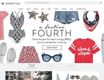shopstyle.com screenshot