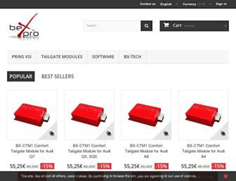 shop.bexpro.co screenshot