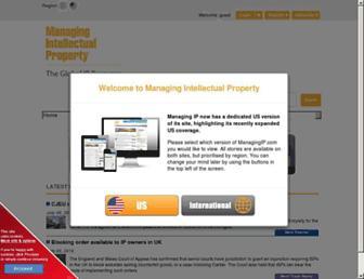 managingip.com screenshot