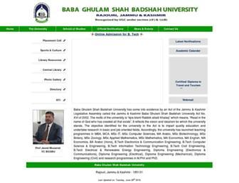 bgsbuniversity.org screenshot
