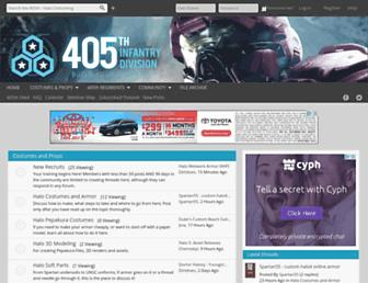 405th.com screenshot