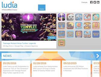 ludia.com screenshot