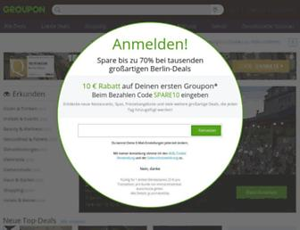 Thumbshot of Groupon.de