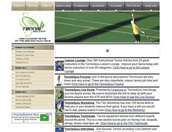 Thumbshot of Tennis4you.com