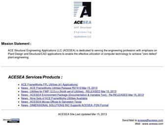 acesea.com screenshot