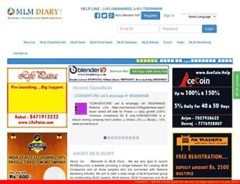 Thumbshot of Mlmdiary.com