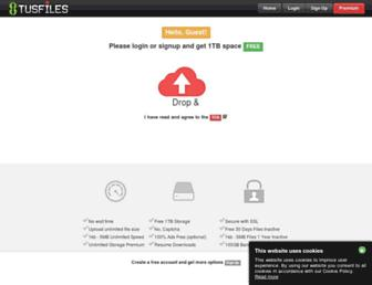 Thumbshot of Tusfiles.net