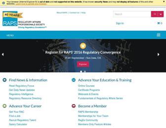 raps.org screenshot