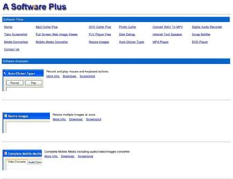 asoftwareplus.com screenshot