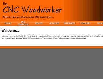 thecncwoodworker.com screenshot