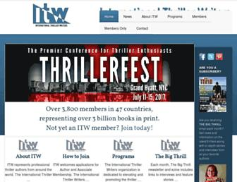 thrillerwriters.org screenshot