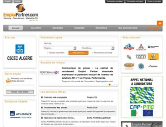 emploipartner.com screenshot